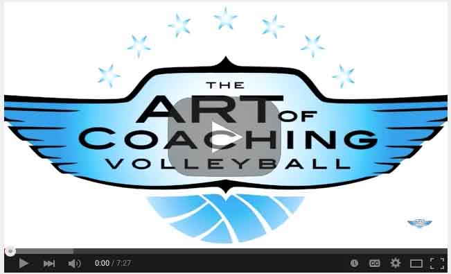 Instructional Video on Hitting a Volleyball