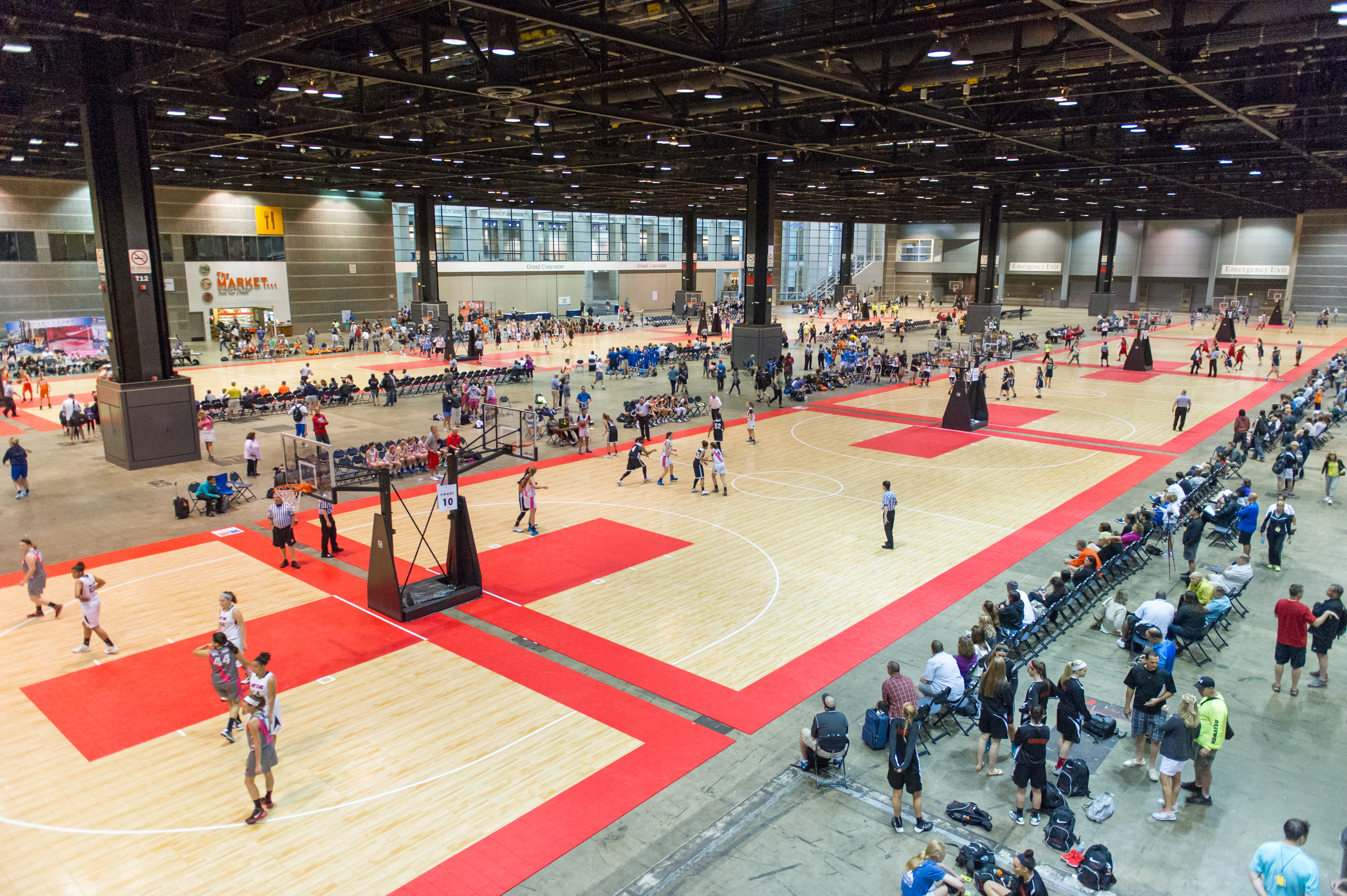 Sport Court To Provide 38 Maple Select Courts For The 17th Annual Nike Tournament Of Champions