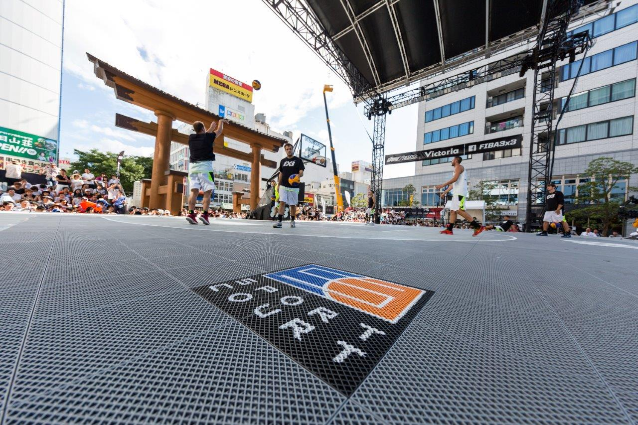 Official Court of the FIBA 3x3 World Tour