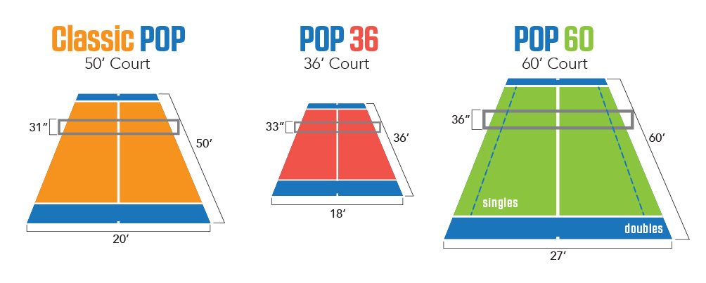Pop Tennis Sport Court