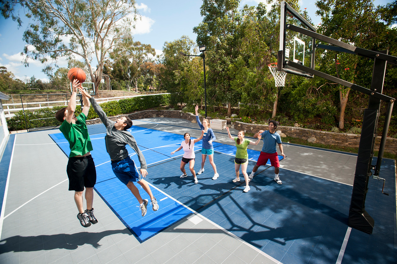 Your Sport Court Backyard Court Can Be Limitless