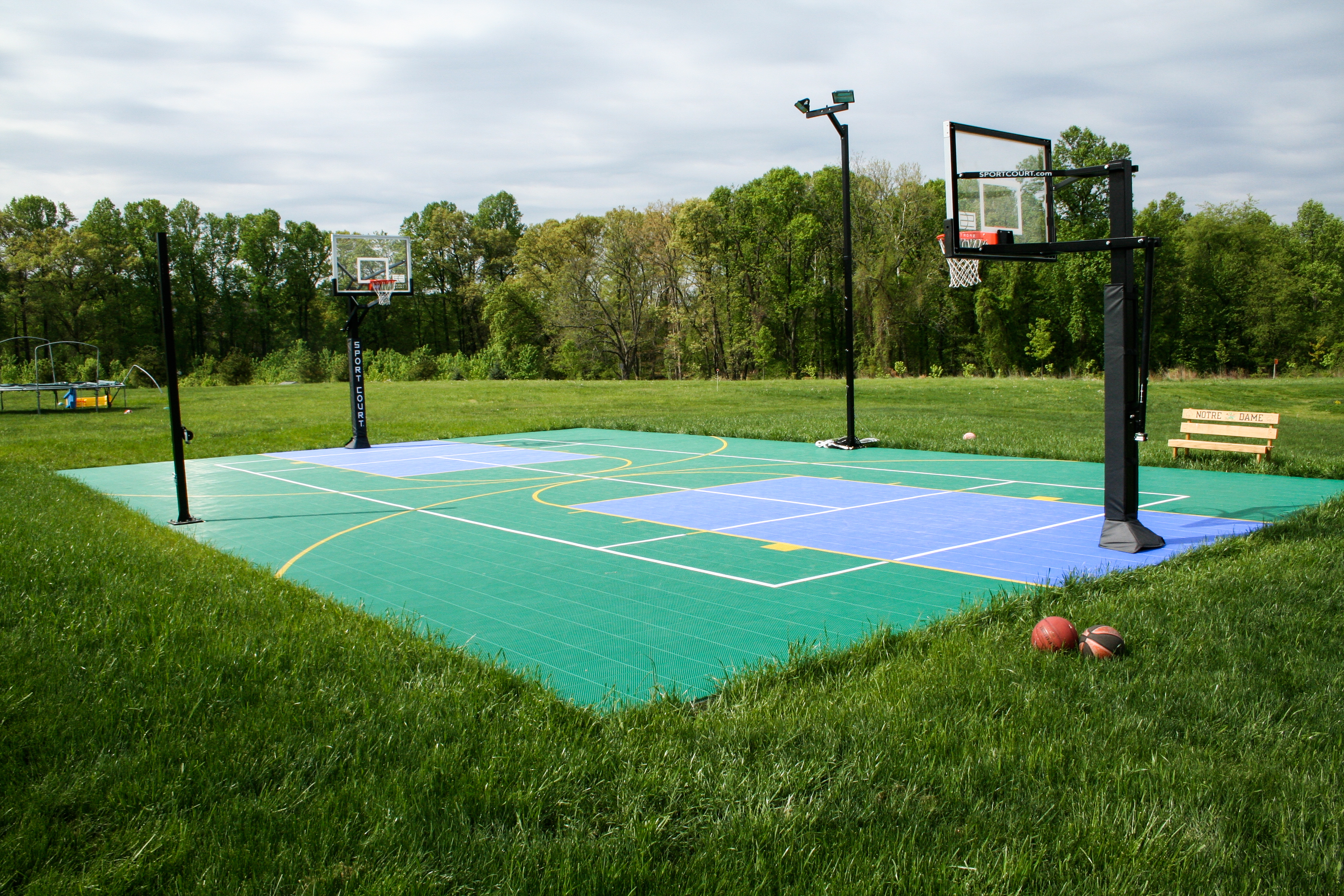 Revamp Old Playground Games on Your Sport Court Game Court