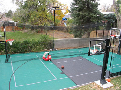 Home Basketball Cages