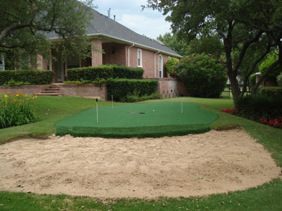 Home Putting Green Builders