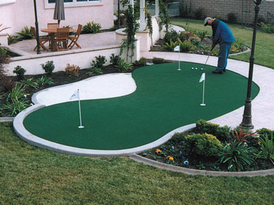 Home Putting Green Installers