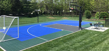 Multi-Sport Athletic Surfaces - Up to 15 Sports