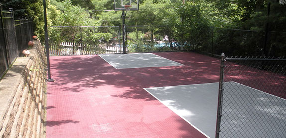 Backyard Basketball Court Builders
