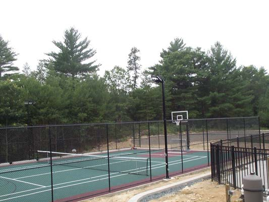 Tennis Basketball