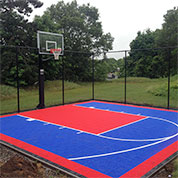 Home Tennis Court and Basketball Court