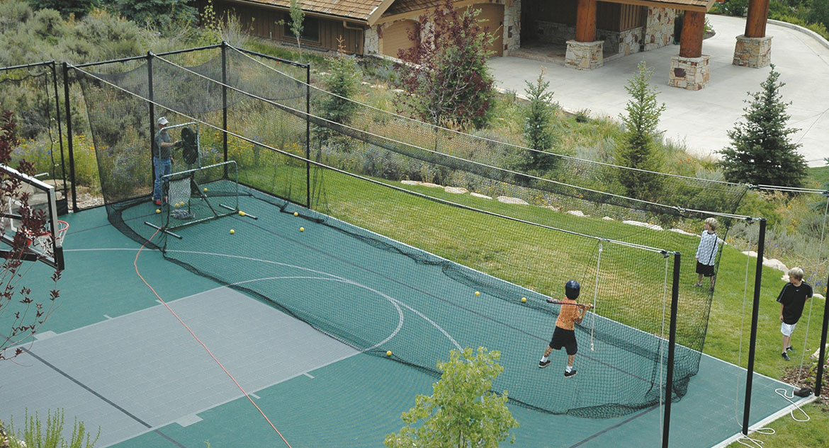 Beau Home Backyard Batting Cages And Hitting Tunnels