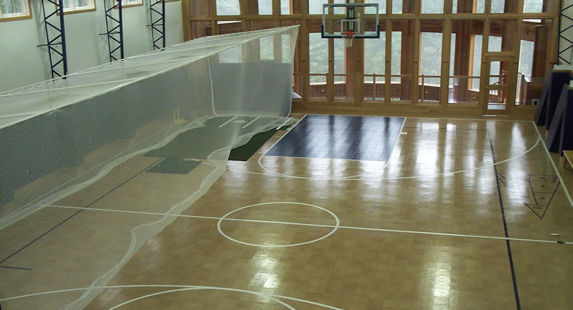 Indoor Home Gym Flooring Residential Multi Sport Game Court