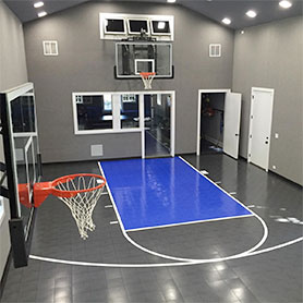 Indoor Home Gym Flooring | Residential Multi-sport Game Court