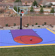 Outdoor Home Basketball Court