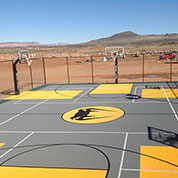 Backyard Multi-Sport Outdoor Basketball Flooring