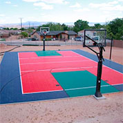 Backyard Basketball Court Sport Court Tiles