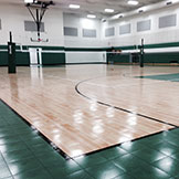 Customized Indoor Commercial Basketball Facility Builder