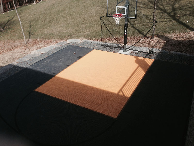 Backyard-court Family Sport Outdoor Basketball