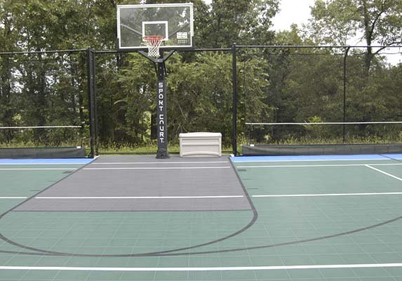 Backyard-court Basketball Outdoor Family Sport Accessories