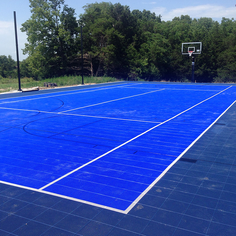 Backyard-court Basketball Family Sport Outdoor