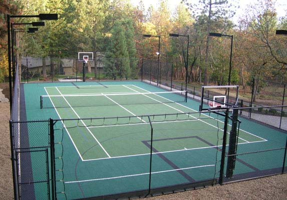Tennis Outdoor Basketball Backyard-court Family Sport Accessories