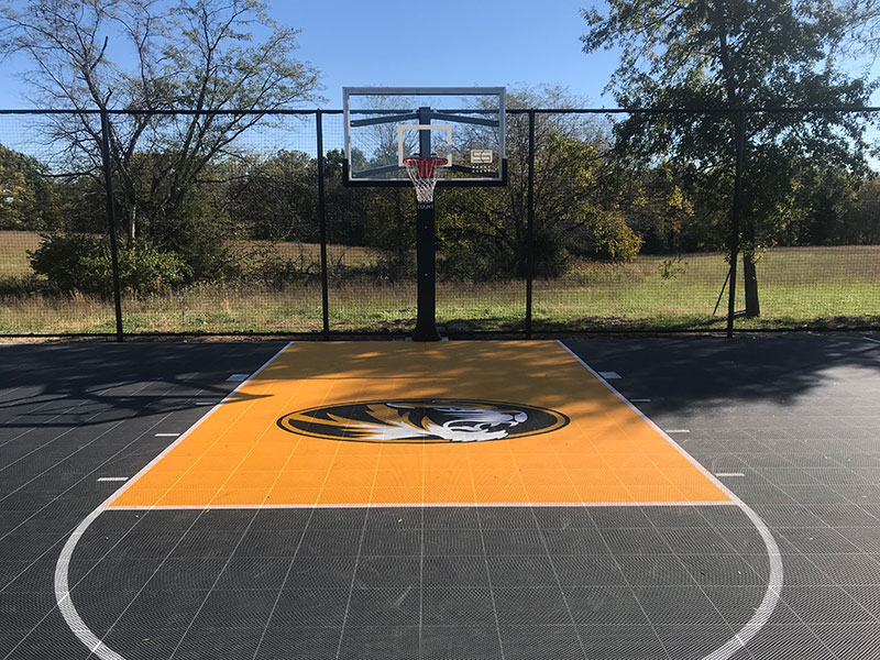 Basketball Family Backyard-court Sport