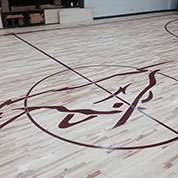 Customized Basketball Flooring