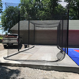 Outdoor Batting Cage Builder