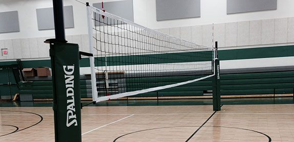 Indoor Volleyball Court Builder and Accessories
