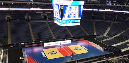 Sport Court Flooring in Stadium