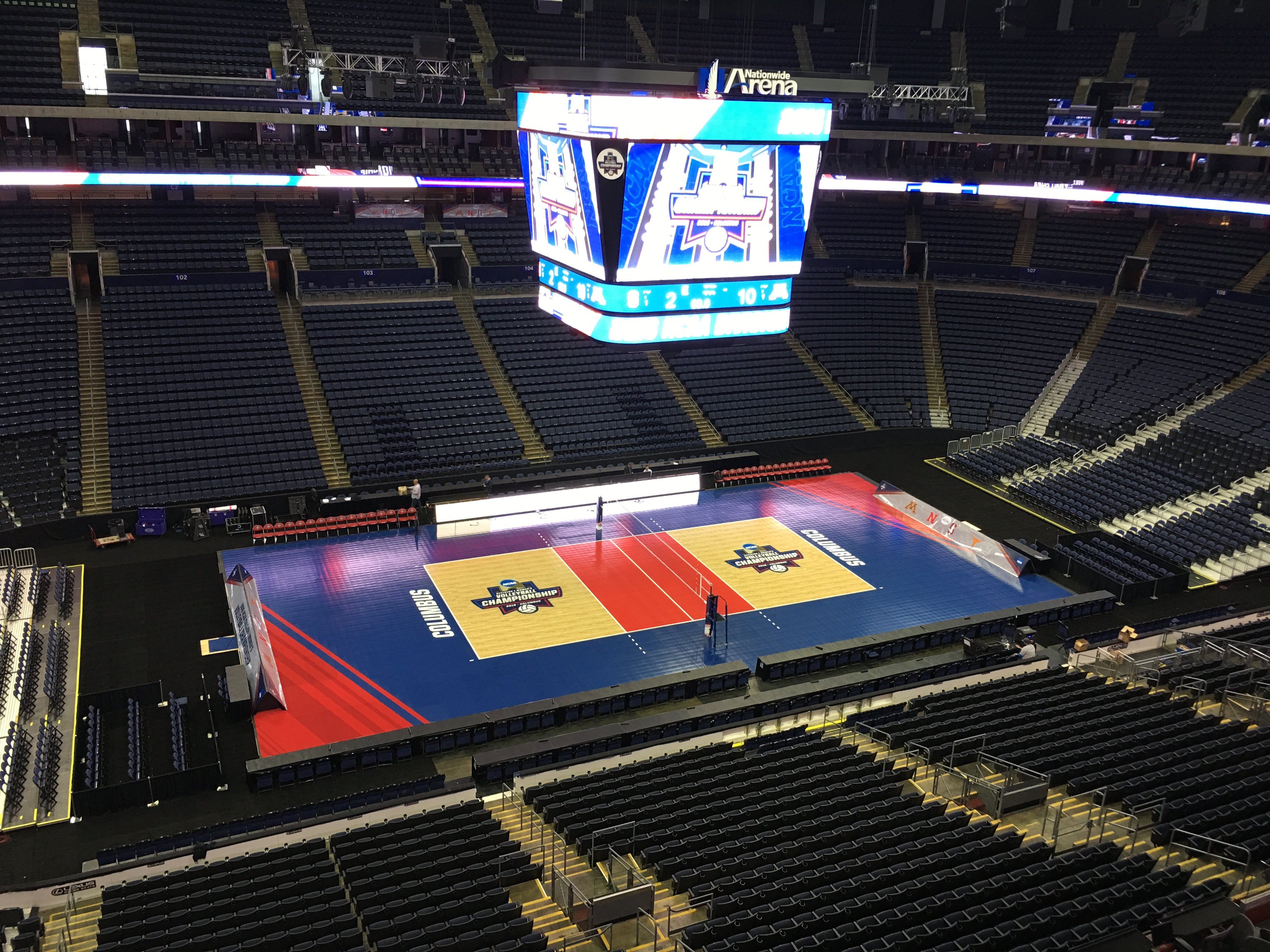 Professional Stadium Court Flooring by Sport Court
