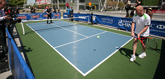 Tennis Court Surfaces by Sport Court for all levels of play!
