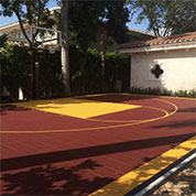 Sport Court Tiles for Outdoor Basketball Court Flooring
