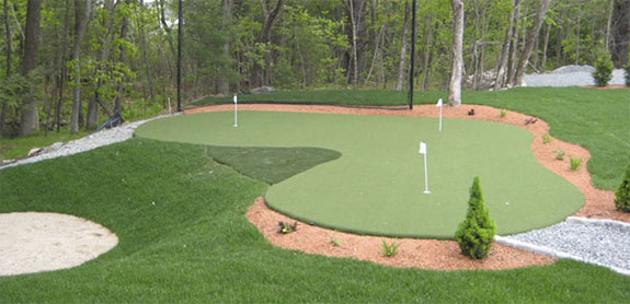 Backyard Putting Green Builders