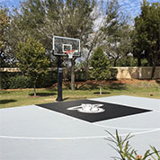 Sport Court Athletic Tiles Outdoor Basketball Court Flooring