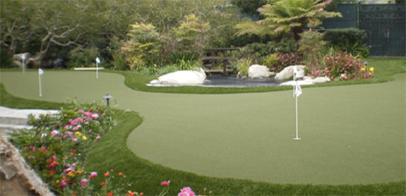 Florida Home Putting Green