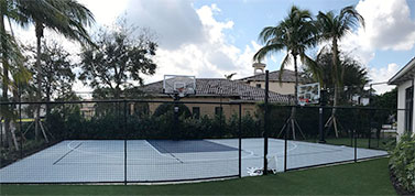 Florida Home Basketball Court