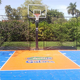 Florida Outdoor Basketball Court Flooring