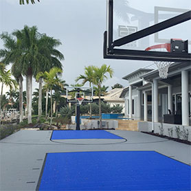 Florida Outdoor Basketball Court