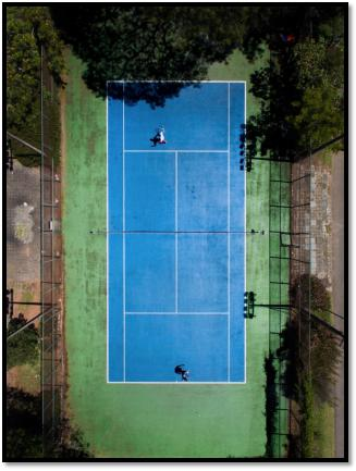 In or Out – Where Should Your Tennis Court Be?
