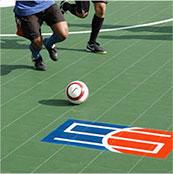 futsal on Sport Court outdoor playing surface