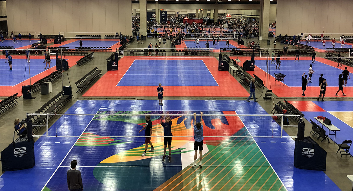 Volleyball Court Systems from Sport Court St. Louis