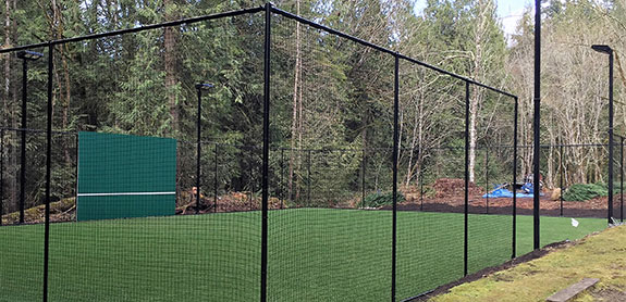Backyard golf putting green by Sport Court