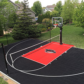 Outdoor Basketball Court Flooring - Sport Court Wisconsin