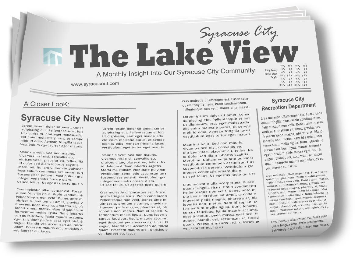 Syracuse City Newsletter