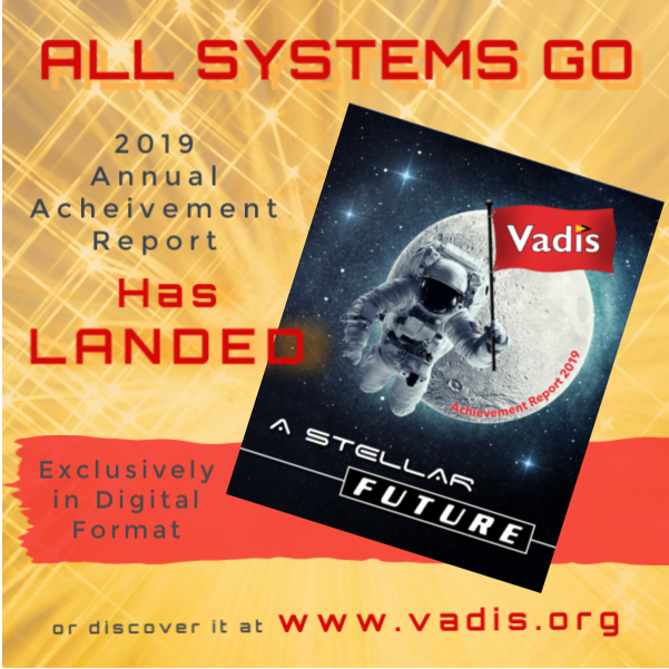 The Vadis 2019 Annual Report has Landed!